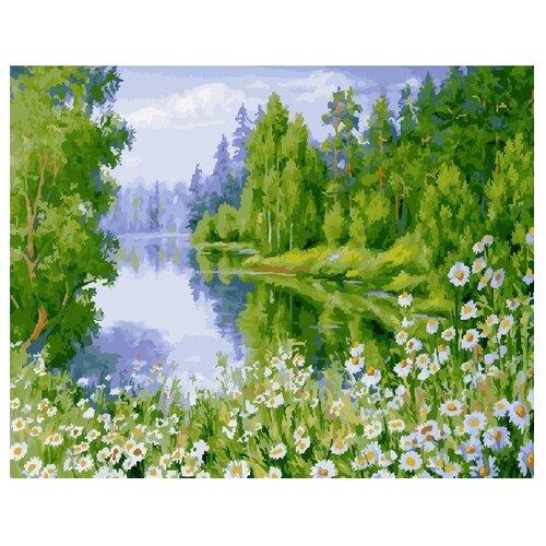Купить ВанГогВоМне Картина по номерам Летний лес , 40х50 см (ZX 21620), Картины по номерам и контурам