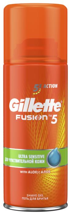 Гель для бритья Fusion 5 для чувствительной