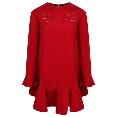 Купить Платье Mayoral размер 128, carmine, Платья и сарафаны