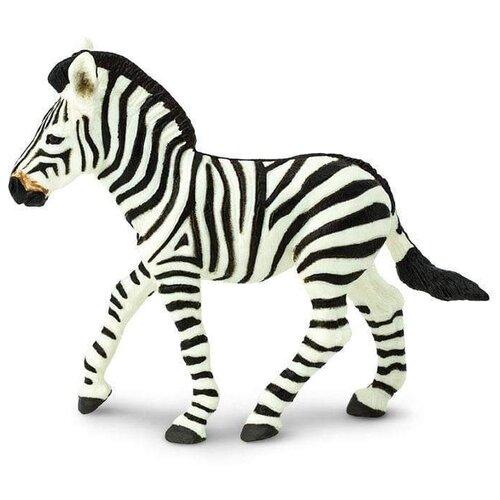 Фото - Фигурка Safari Ltd Wildlife Жеребёнок зебры 271829 фигурка safari ltd wildlife детёныш жирафа 100422