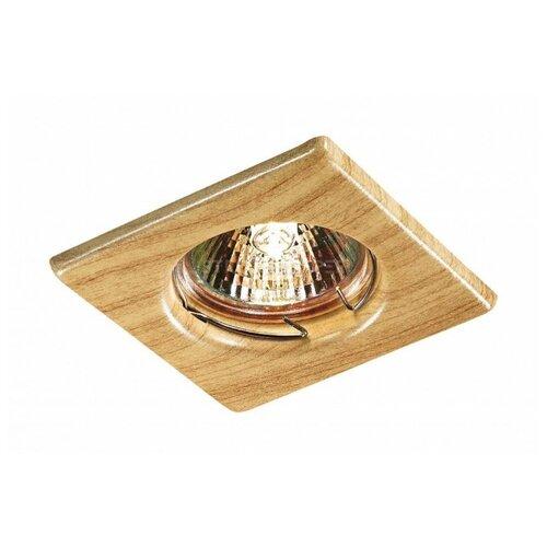 Встраиваемый светильник Novotech Wood 369716 встраиваемый светильник novotech snail 357568