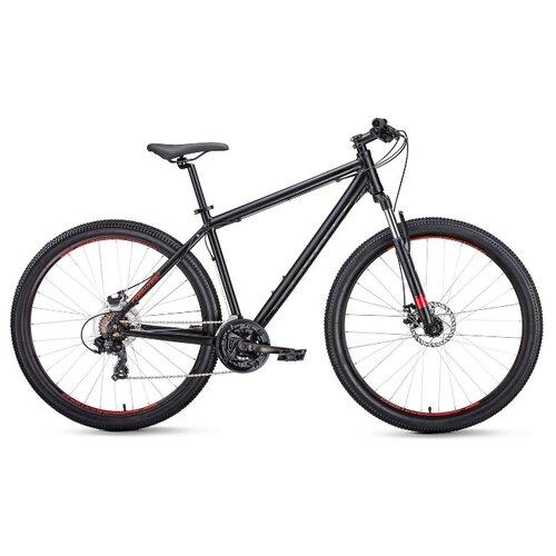 Горный (MTB) велосипед FORWARD Apache 27.5 2.0 Disc (2020) черный 15