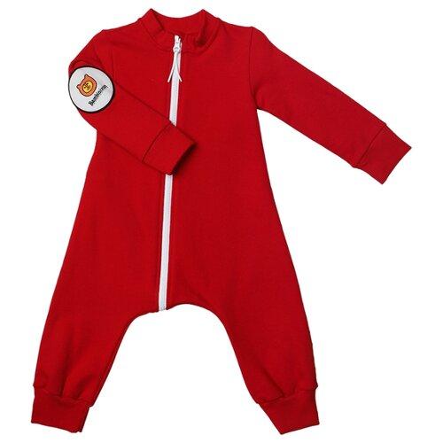 Фото - Комбинезон Bambinizon размер 56, бордовый комбинезон bambinizon фкм гор2 размер 98 горчичный