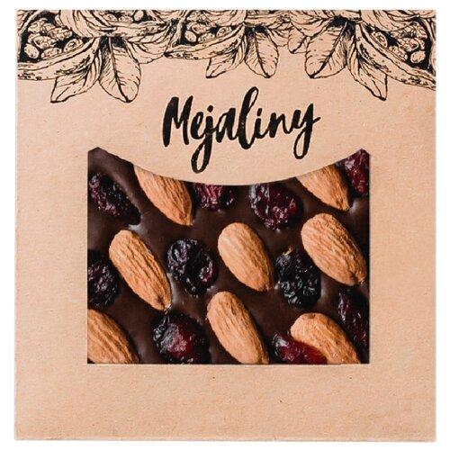 Шоколад Mejaliny молочный с миндалем, клюквой, 38%, 80 г