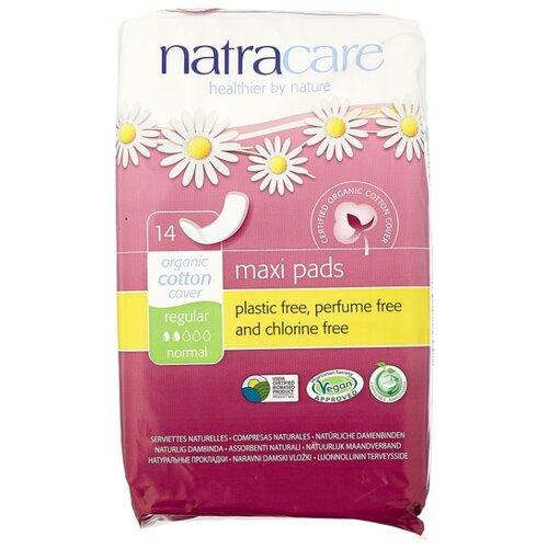 Купить Natracare прокладки Maxi Pads Regular закругленные 14 шт.