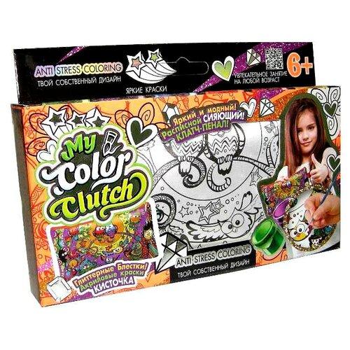 цена на Danko Toys Пенал-раскраска My Color Clutch Совы (CCL-01-08)