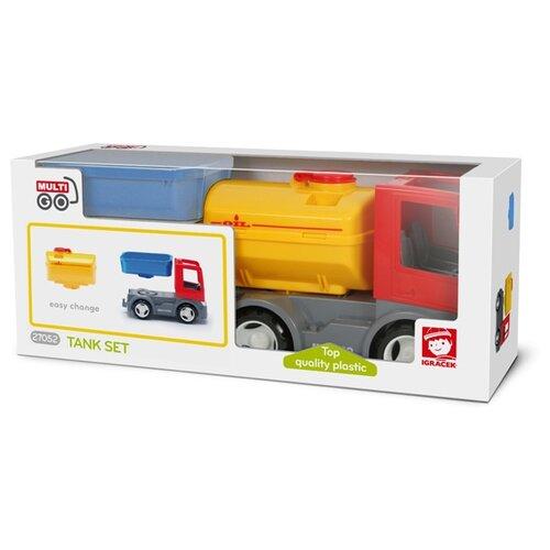 Купить Грузовик Efko 27052 красный/желтый/синий, Машинки и техника