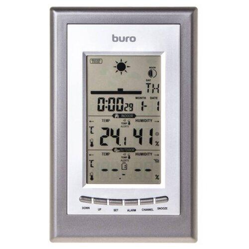 Метеостанция Buro H209G серебристый