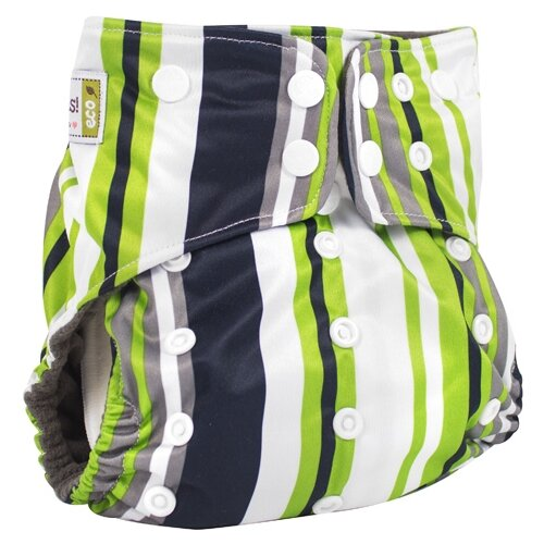 Купить GlorYes! подгузники Premium (3-18 кг) 1 шт. полоски, Подгузники