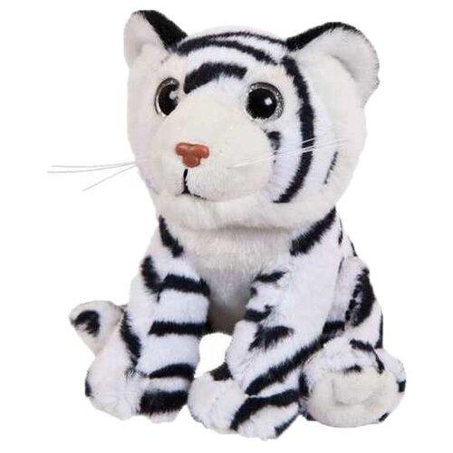 Мягкая игрушка Junfa toys В дикой природе Тигренок бенгальский белый 15 см