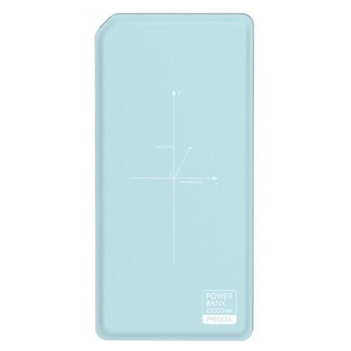 Аккумулятор Remax Proda Chicon Wireless 10000 mAh PPP-33, голубой