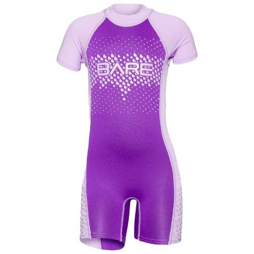 Детский гидрокостюм Bare Guppy Shorty р. 2, фиолетовый