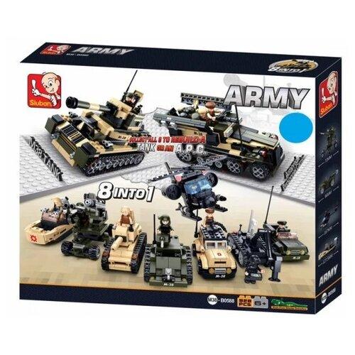 Купить Конструктор SLUBAN Army M38-B0588, Конструкторы