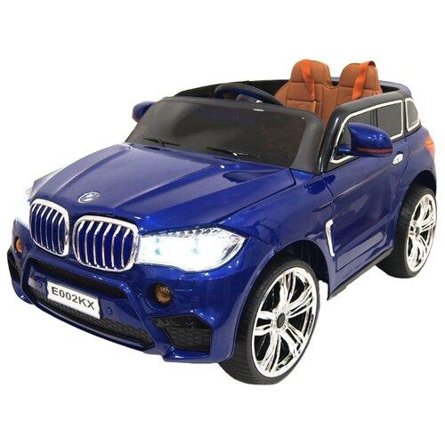 Купить RiverToys Автомобиль BMW X5 E002KX, синий, Электромобили