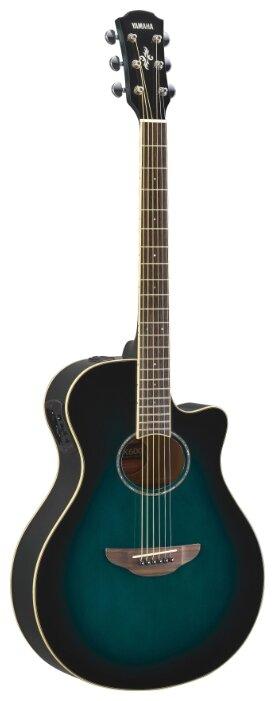 Гитара электроакустическая YAMAHA APX600 Oriental Blue Burst