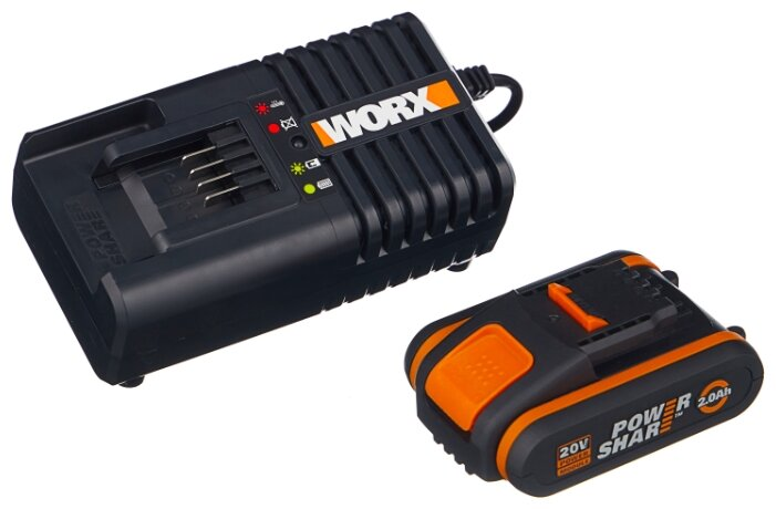 Набор Worx WA3601 20 В 2 А·ч