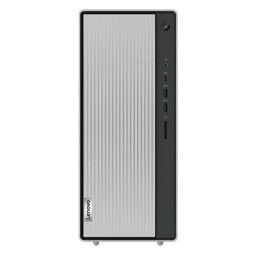 Настольный компьютер Lenovo IdeaCentre 5 14IMB05 (90NA005ERS) Mini-Tower/Intel Core i5-10400/8 ГБ/256 ГБ SSD/Intel UHD Graphics 630/ОС не установлена серебристый