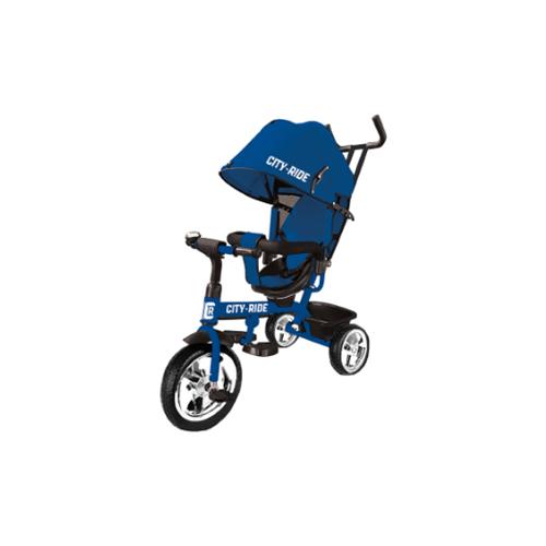 Трехколесный велосипед CITY-RIDE CR-B3-01, синий