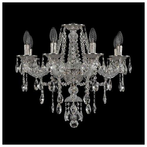 Люстра Bohemia Ivele Crystal Ivele Crystal 16115/8/200 Ni, E14, 320 Вт штоф eskymos crystal bohemia 8 марта женщинам