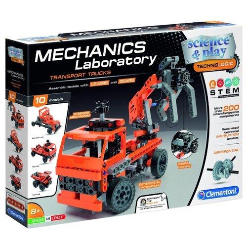 Купить Конструктор Clementoni Mechanics Laboratory 75029 Транспортные и карьерные грузовики, Конструкторы