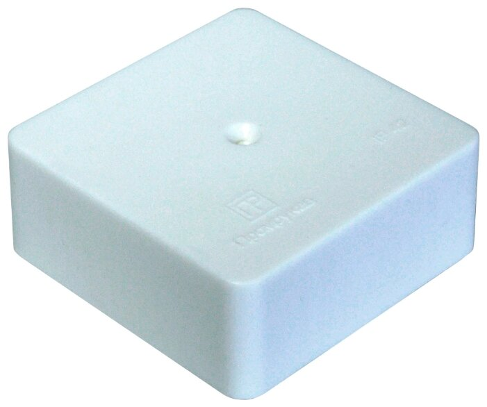 Распределительная коробка ПРОМРУКАВ 40-0450 наружный монтаж 75x75 мм