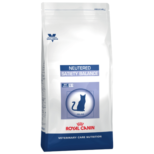 Корм для стерилизованных кошек Royal Canin Satiety Balance мясное ассорти 8 кг cat wet food royal canin ultra light pieces in jelly 24 85 g cat wet food royal canin aging 12 pieces in jelly 85 g 24