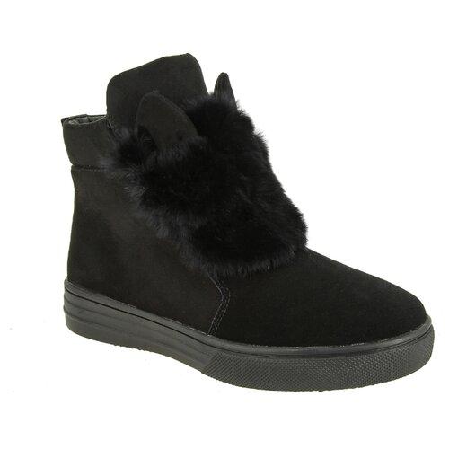Ботинки KENKA размер 33, черный ботинки для мальчика kenka цвет черный fkh 6626 2 black размер 28