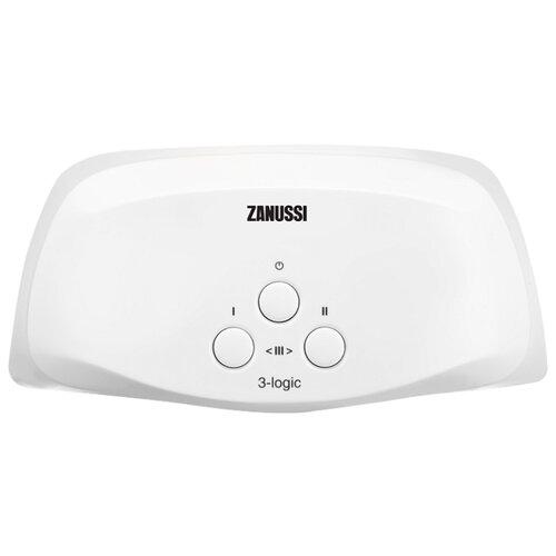 Проточный электрический водонагреватель Zanussi 3-logic 5,5 TS (душ+кран)