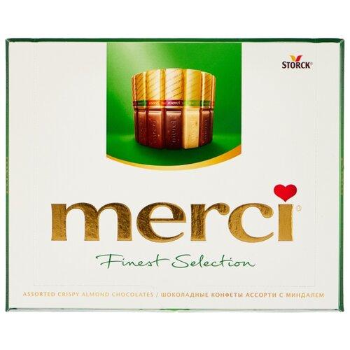 Фото - Набор конфет Merci Ассорти с миндалем, 250 г набор конфет merci ассорти 400 г