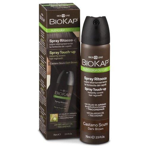 Спрей BioKap Nutricolor Spray Touch Up Dark Brown, 75 мл
