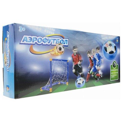 Игровой набор 1 TOY Аэрофутбол (Т17518) синий