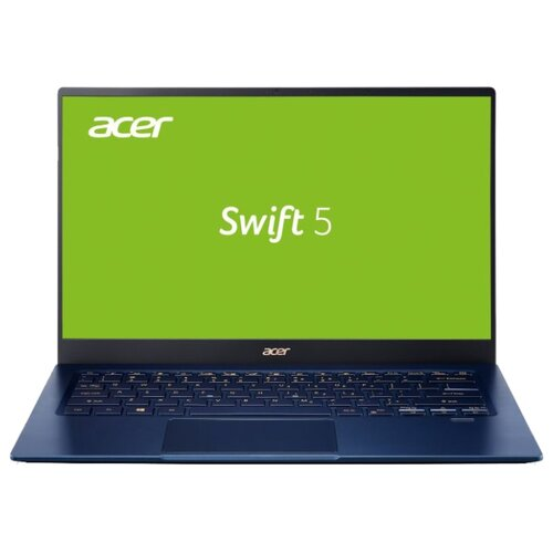 "фото Ноутбук Acer SWIFT 3 (SF514-54GT-53J6) (Intel Core i5-1035G1 1000 MHz/14""/1920x1080/8GB/512GB SSD/DVD нет/NVIDIA GeForce MX250/Wi-Fi/Bluetooth/Windows 10 Home) NX.HHVER.001 синий"