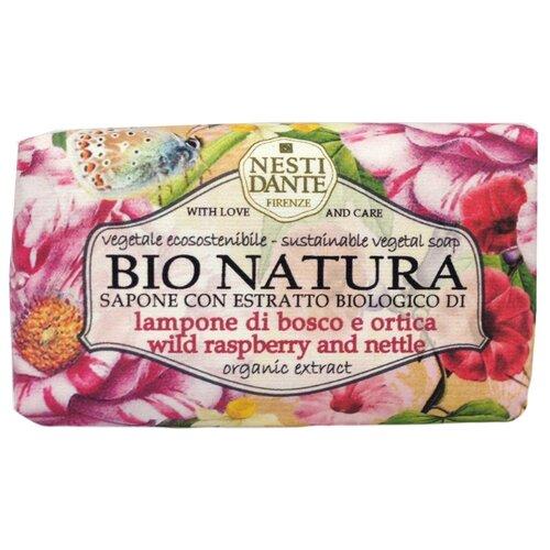 Фото - Мыло кусковое Nesti Dante Bio Natura Wild Raspberry and Nettle, 250 г nesti dante fig and almond milk shower gel