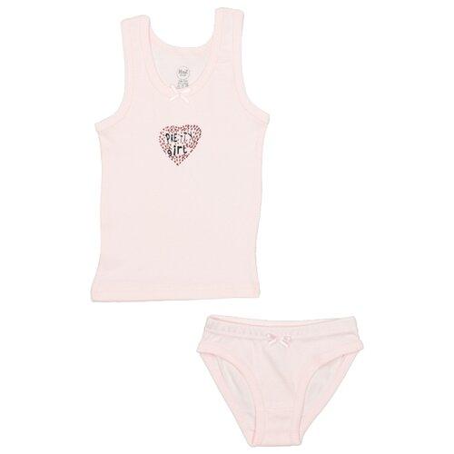 Купить Комплект нижнего белья RuZ Kids размер 116-122, розовый, Белье и купальники