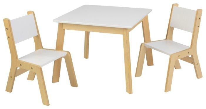 Комплект KidKraft стол + 2 стула Модерн (27025_KE)