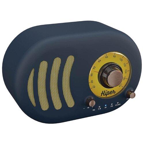 Купить Портативная акустика HIPER Retro S deep blue