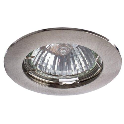 Встраиваемый светильник Arte Lamp Basic A2103PL-1SS подвесной светильник arte lamp a4081sp 1ss серебристый
