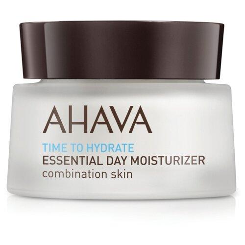 Купить AHAVA Time To Hydrate Essential day moisturizer увлажняющий дневной крем для комбинированной кожи лица, 50 мл