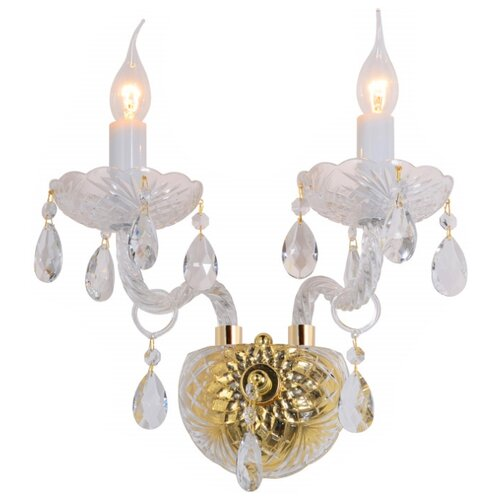 Настенный светильник Omnilux Ladispoli OML-89001-02, 120 Вт бра omnilux oml 62201 02