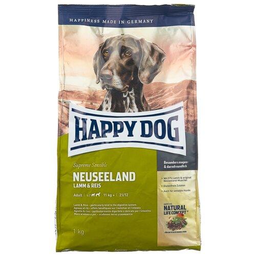 Фото - Сухой корм для собак Happy Dog Supreme Sensible Neuseeland ягненок 1 кг сухой корм happy dog supreme sensible adult 11kg irland salmon