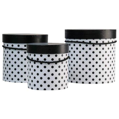 Фото - Набор подарочных коробок Shantou Jin Wei Ming Arts & Crafts Product Горох, 3 шт черный набор подарочных коробок tai an baoli paper product co ltd фауна 17 шт желтый