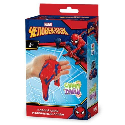 Набор 1 TOY Слайм тайм. Человек-паук Т14302, Наборы для исследований  - купить со скидкой