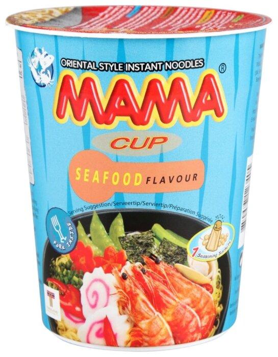 Mama Лапша быстрого приготовления тайская со вкусом морепродуктов 70 г
