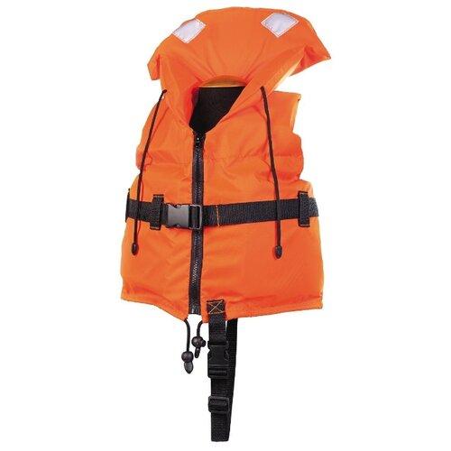 Спасательный жилет Спортивные Мастерские Юнга детский с подголовником SM-034 оранжевый XXS 15 кг