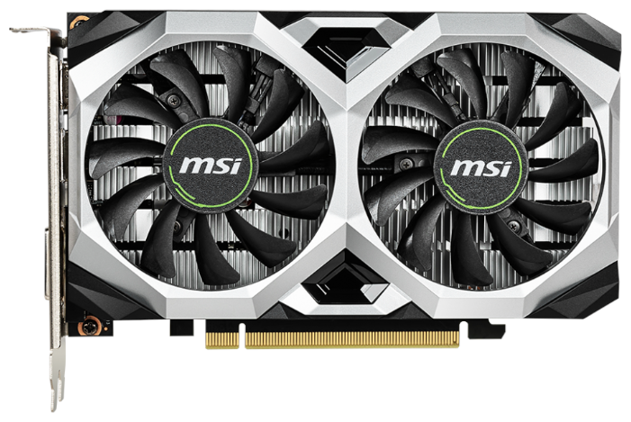 Видеокарта MSI GeForce GTX 1650 1620MHz PCI-E 3.0 4096MB 12000MHz 128 bit DVI HDMI DisplayPort HDCP D6 VENTUS XS OC — купить по выгодной цене на Яндекс.Маркете