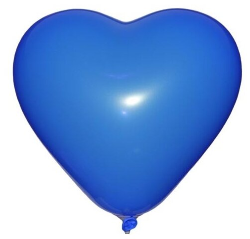 Набор воздушных шаров MILAND Пастель Сердце 31 см ШВ-4850 (100 шт.)
