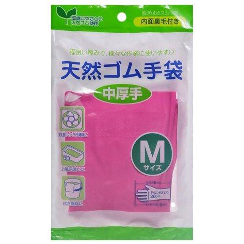 Перчатки CAN DO хозяйственные средней толщины, 1 пара, размер M, цвет розовый