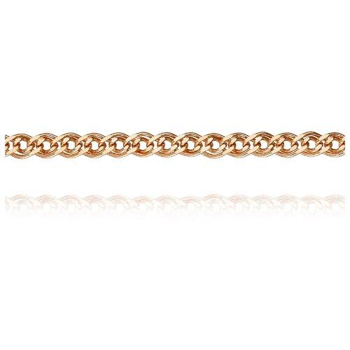 АДАМАС Цепь из золота плетения Нонна ЦН260А2-А51, 60 см, 12.3 г