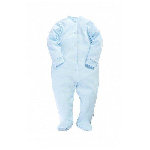 Купить Комбинезон Веселый Малыш размер 68, голубой, Комбинезоны