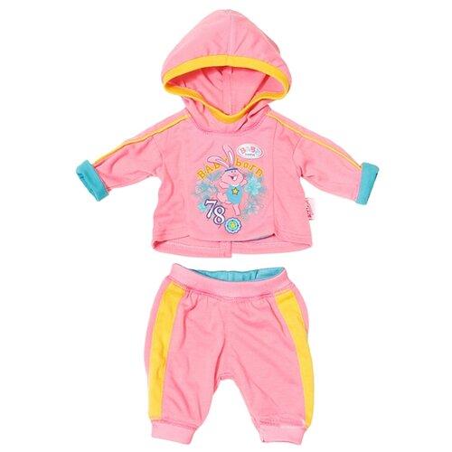 Фото - Zapf Creation Набор одежды для куклы Baby Born 823774 розовый набор аксессуаров zapf creation